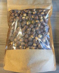 hazelnut kernels inshell roasted salted