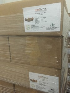 organic dried mulberry in cartons