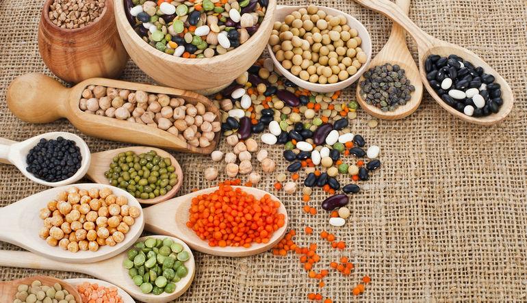 beans, pulses, grains