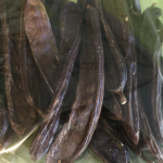 dried whole carob