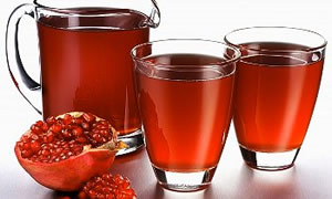 organic pomegranate juice