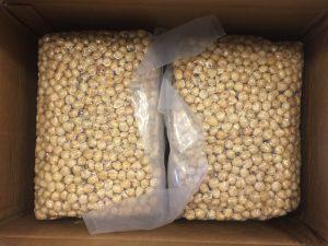 hazelnut kernels roasted