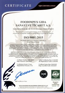 ISO9001_foodimpex