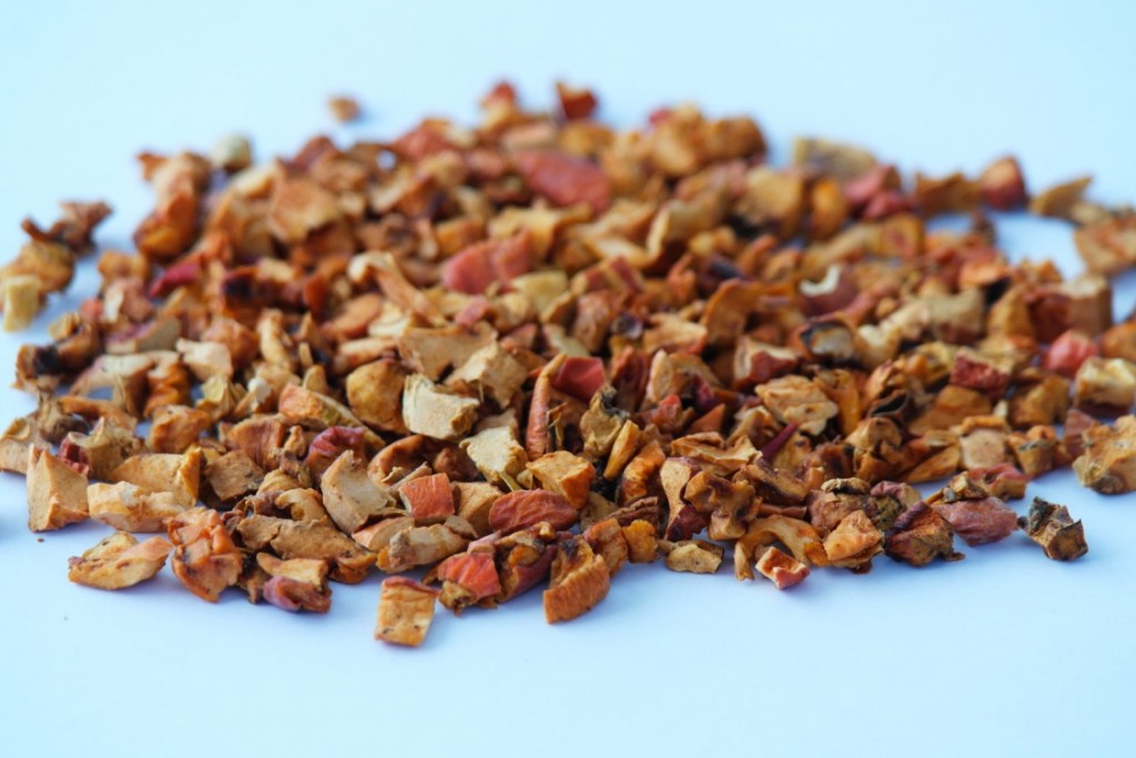 dried apples diced coarse cut